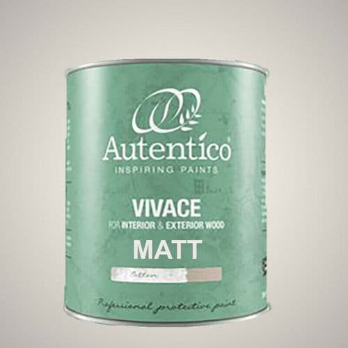 Autentico Vivace Interior & Exterior Paint for Doors & Woodwork  750ml   MATT